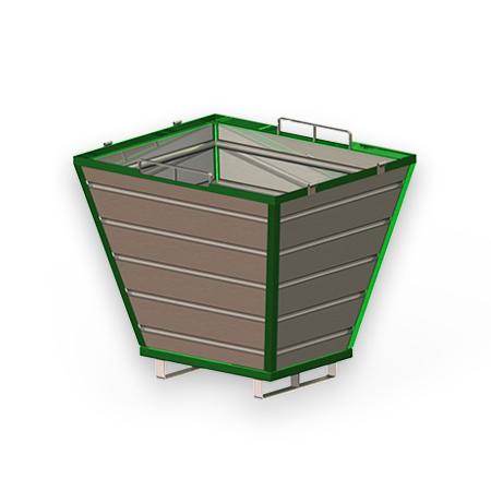 Abbildung eines Schüttgutbehälters