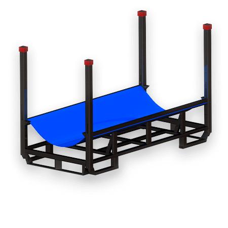 Abbildung eines Rollengestells