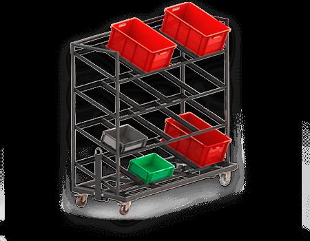 Abbildung eines Etagenwagens